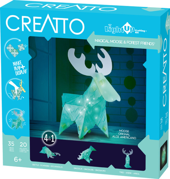 Magical Moose & Forest Friends Creatto