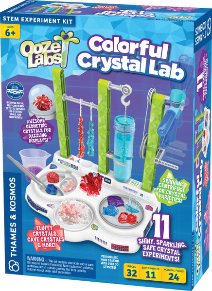 Ooze Labs Colorful Crystal Lab Station