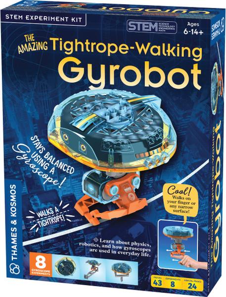 THe Amazing Tightrope-Walking Gyrobot STEM Experiment Kit