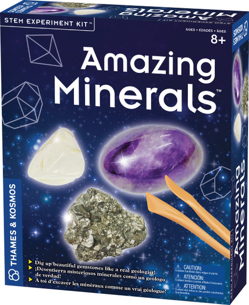 Amazing Minerals Spark Experiment Kit