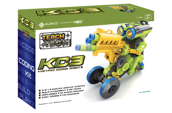 KC3 Keypad Coding Robot Teach Tech