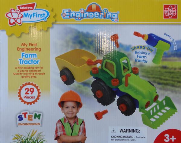 Farm Tractor EduToys
