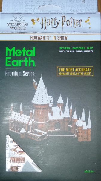Hogwarts in Snow Harry Potter Metal Earth ICONX