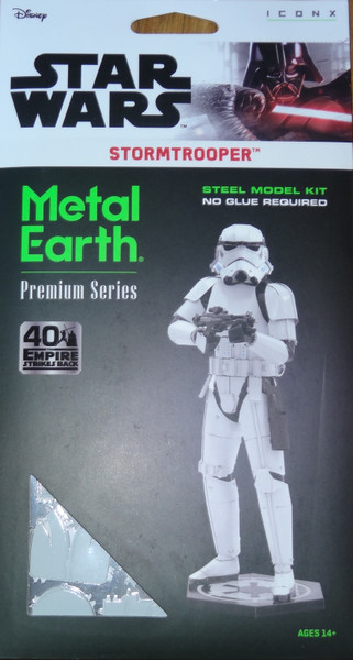 Stormtrooper Star Wars ICONX 3D Metal Model Kit