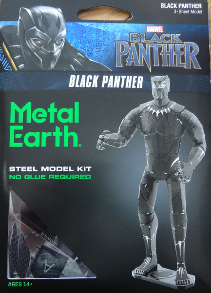 Black Panther Marvel Metal Earth
