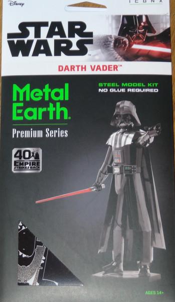 Darth Vader Star Wars ICONX 3D Metal Model Kit
