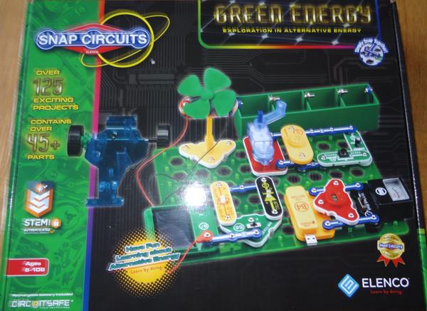 Green Energy Snap Circuits