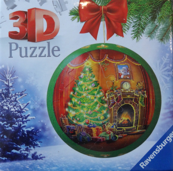 Christmas Tree Christmas Ornament 3D Puzzle