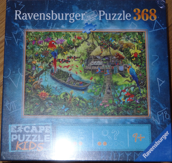 Jungle Journey Escape Puzzle Kids