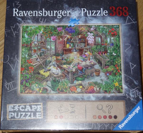The Cursed Greenhouse Escape Puzzle