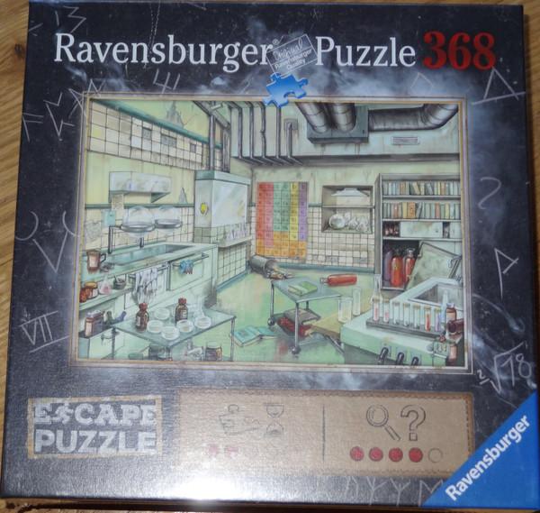 The Laboratory Escape Puzzle