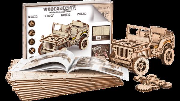 4x4 Wooden City