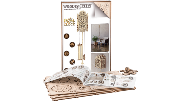 Royal Clock Wooden City