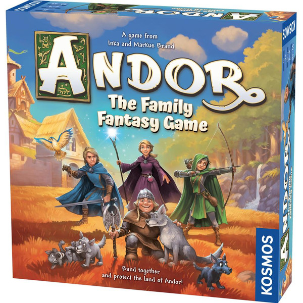 Andor The Family Fantasy Game Base Game