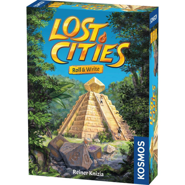 Lost Cities Roll & Write Rivals Game