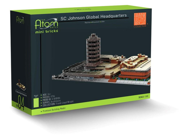 SC Johnson Global Headquarters The Atom Brick
