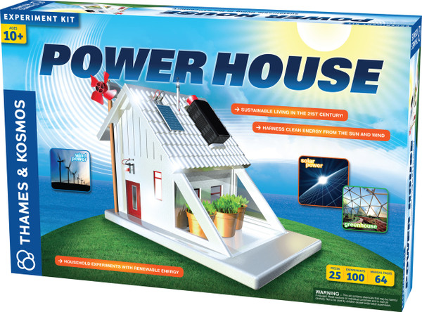 Power House Sustainable Living Experiment Kit