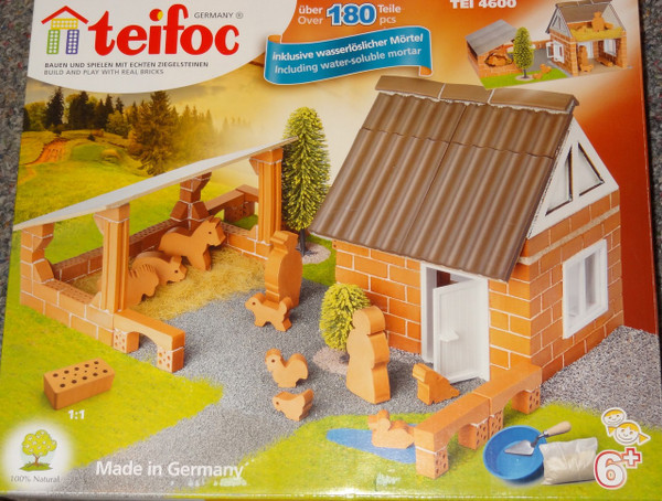 Farm Teifoc Brick & Mortar  Building Kit