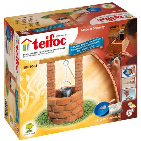 Water Wishing  Well Teifoc Brick & Mortar  Building Kit