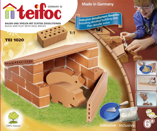 Pig Pen Teifoc Brick & Mortar  Building Kit