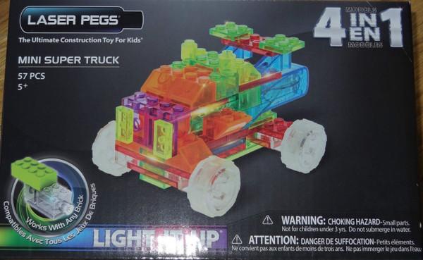 Mini Super Truck MPS Laser Pegs