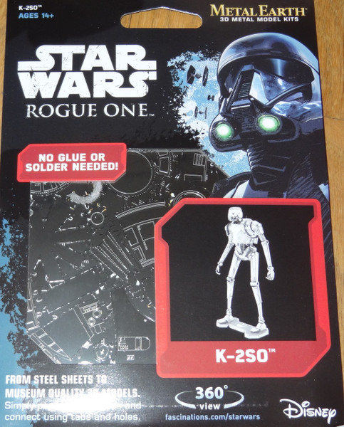 K-2SO Rogue One Star Wars Metal Earth
