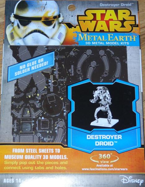Destroyer Droid Star Wars Metal Earth