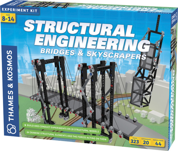 Structural Engineering Bridges & Skyscrapers Experiment Kit