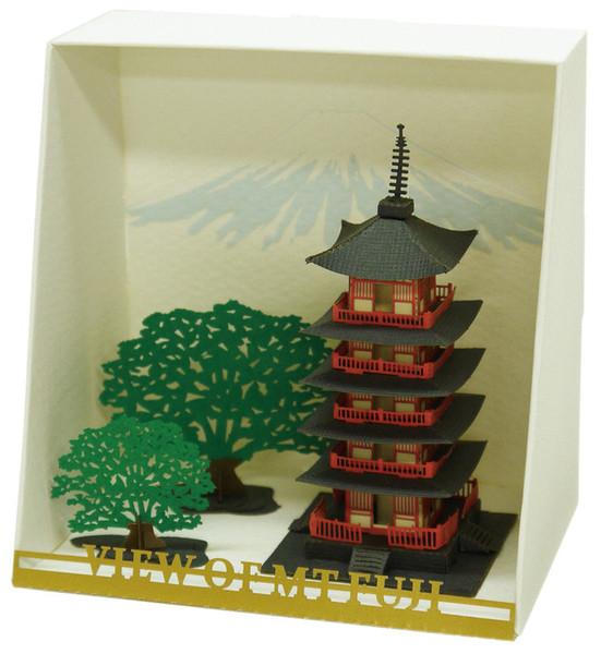 Five Story Pagoda Paper Nano
