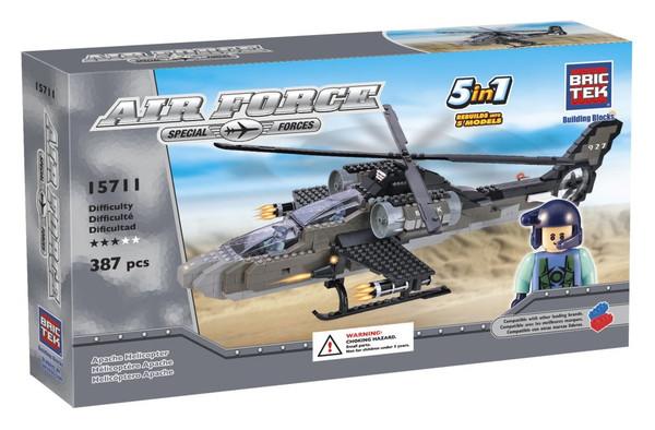 Apache Helicopter BricTek
