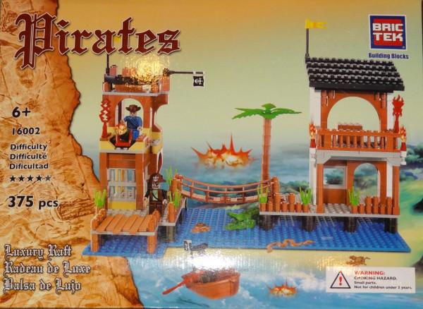 Pirates Luxury Raft BricTek