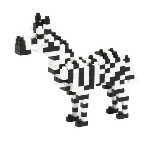 Nanoblock Zebra 180 Pieces