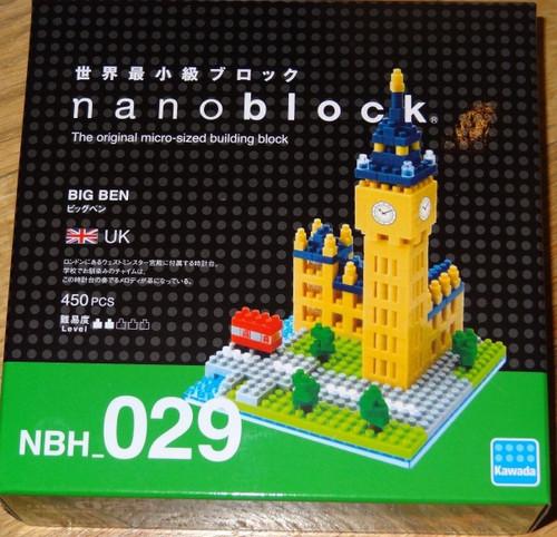 Big Ben Nanoblock Micro Sized Building Blocks Construction Toy Kawada NBH193