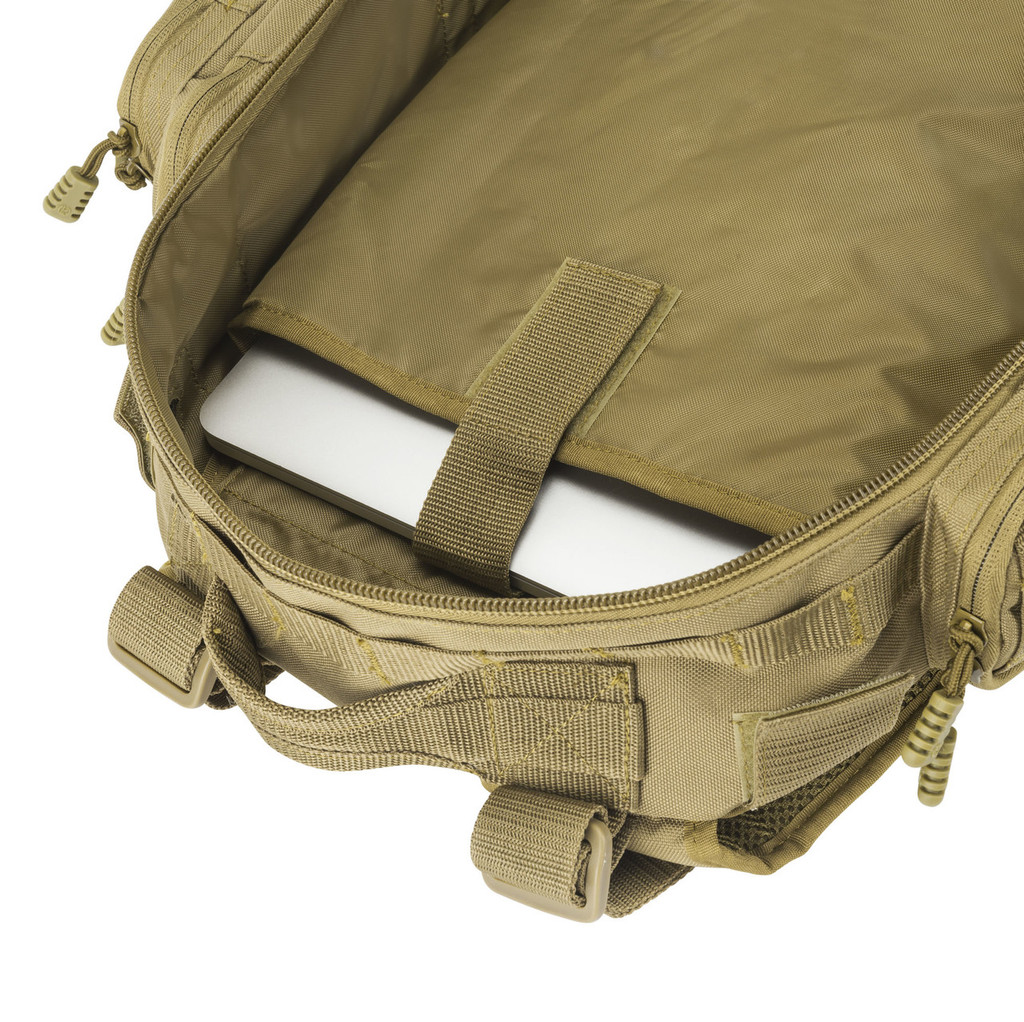 """Padded laptop compartment can accommodate laptops up to 15"""""""