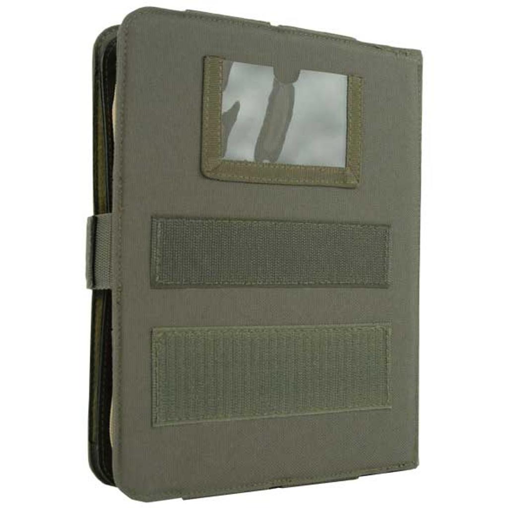ID holder on back side