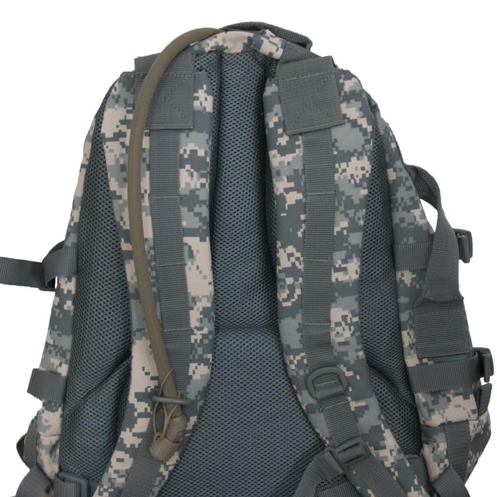 Padded, adjustable backpack straps