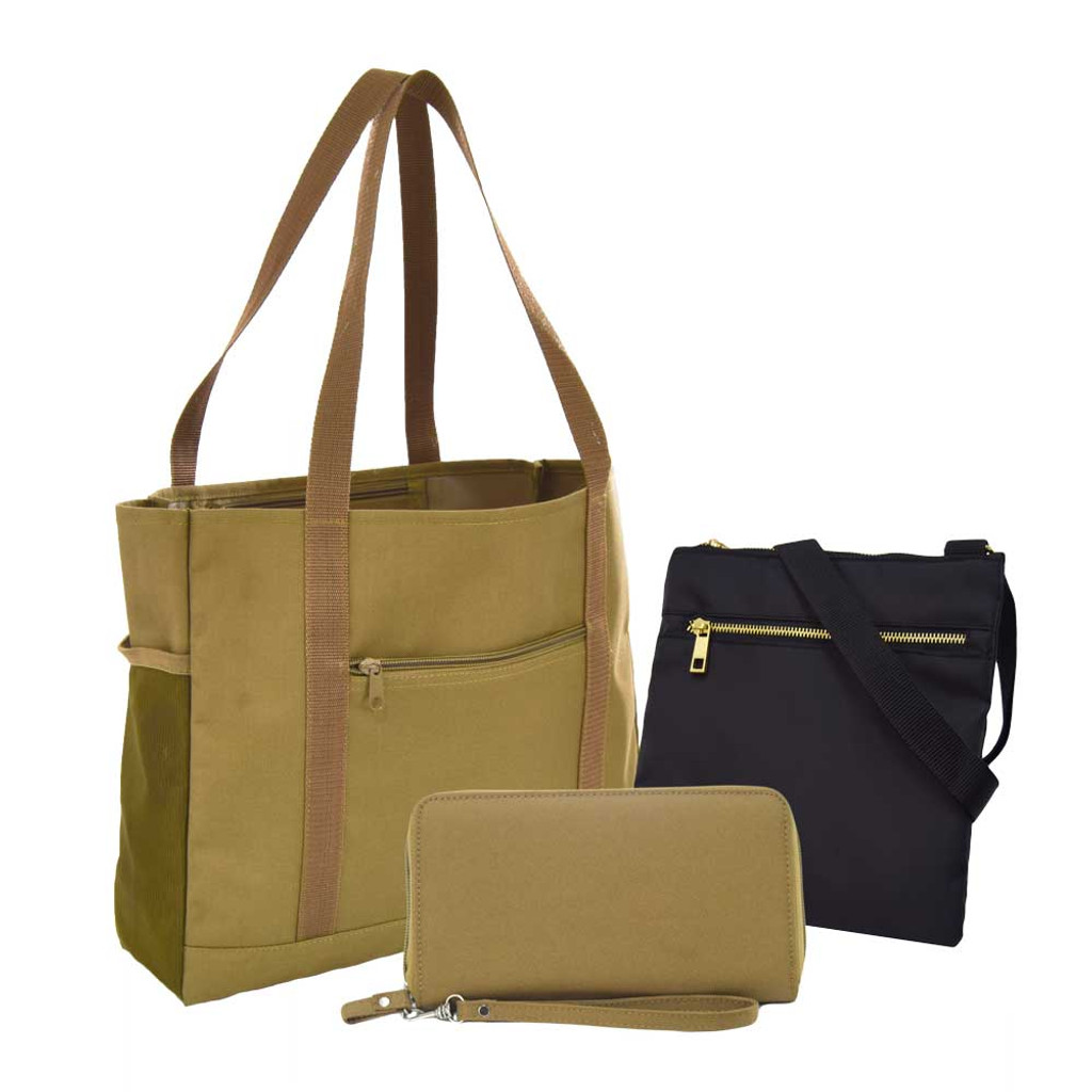 Ultimate 3-Piece Travel Tote Set