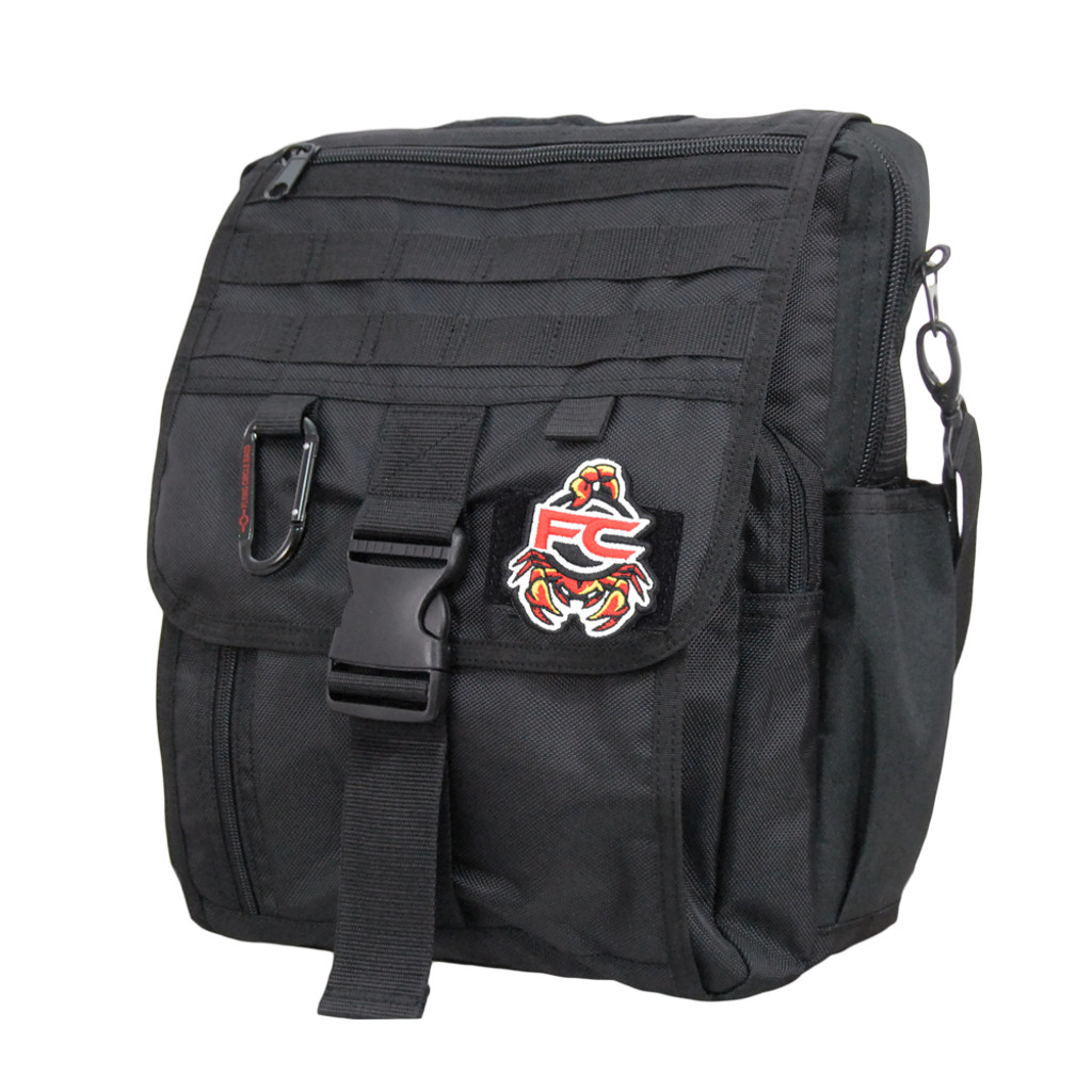 FC Scorpion Patch on Business Backpack
