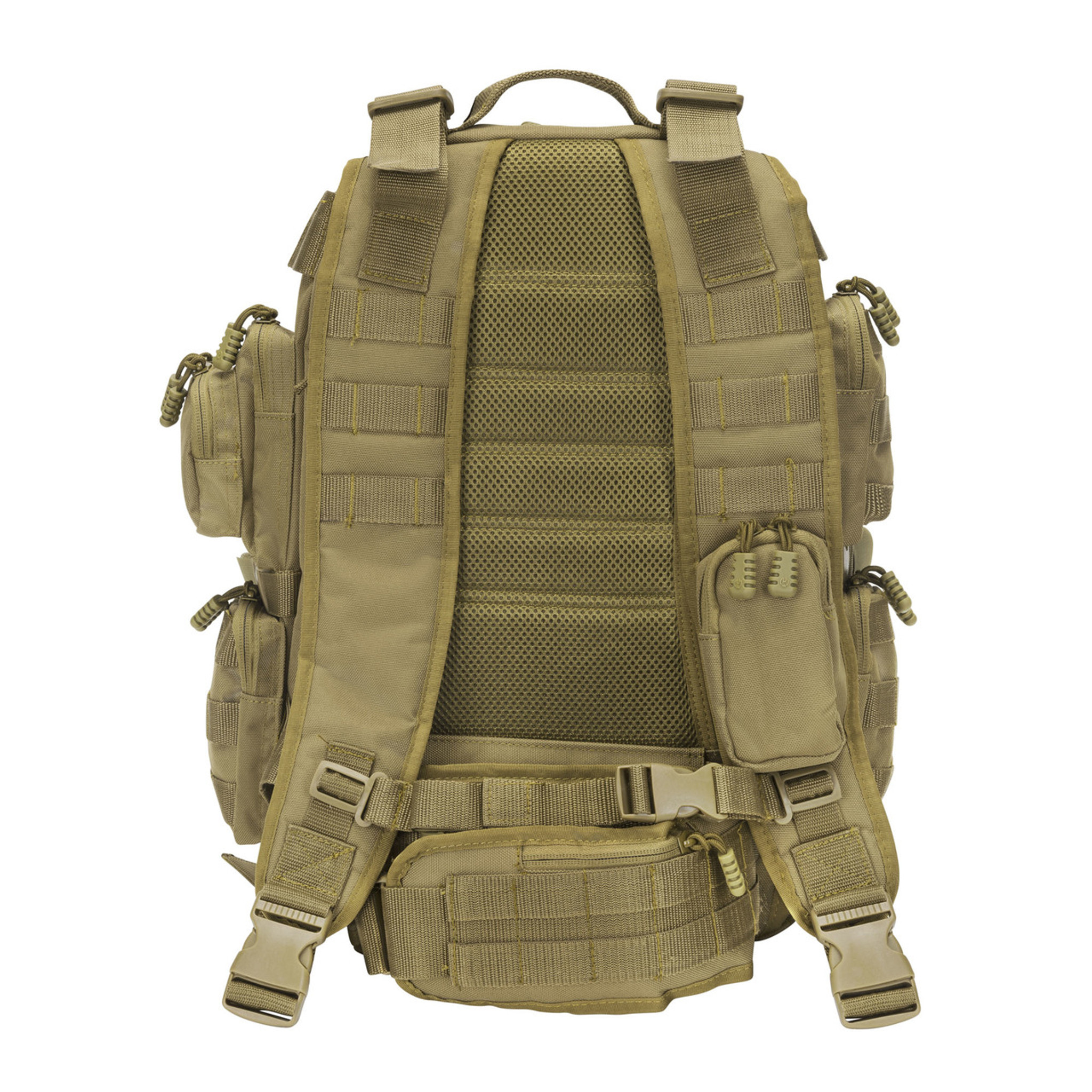534cf3fe24 Padded back and backpack straps with mesh lining for comfort. Small  zippered pouch on one