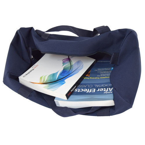 Ideal carry-on for books, magazines, travel documents, and personal electronics