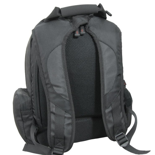 Comfortable padded backpack straps