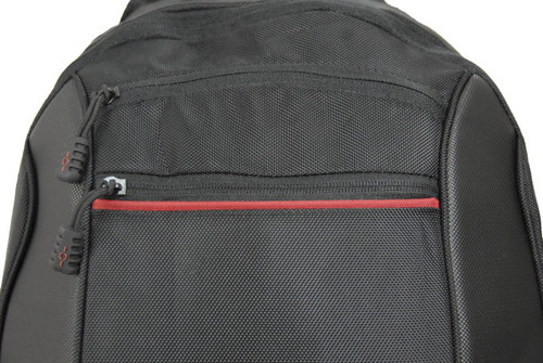 Two front zippered pockets
