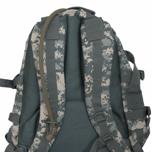 Padded, adjustable backpack straps