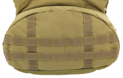 MOLLE on bottom