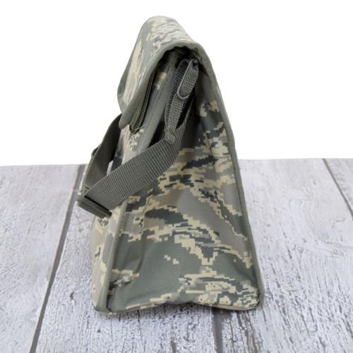 Zipper and fold over Velcro® closure