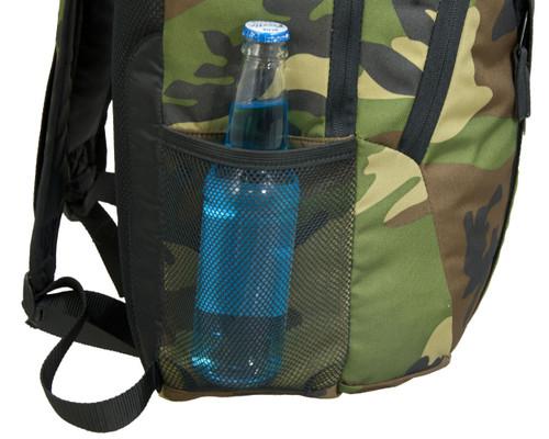 Mesh water bottle pocket