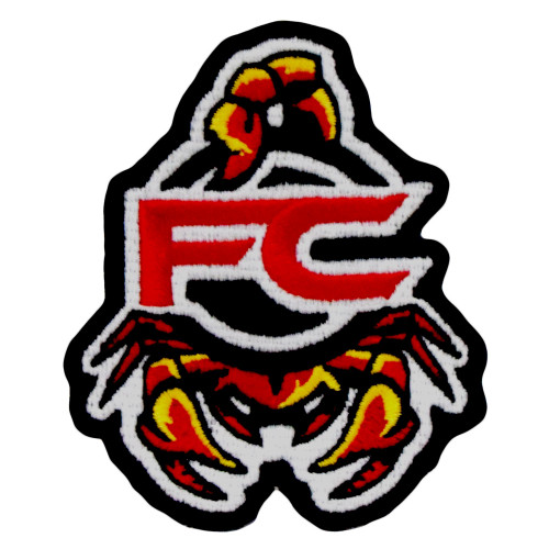 Flying Circle Scorpion Patch - embroidered artwork with Velcro® backing