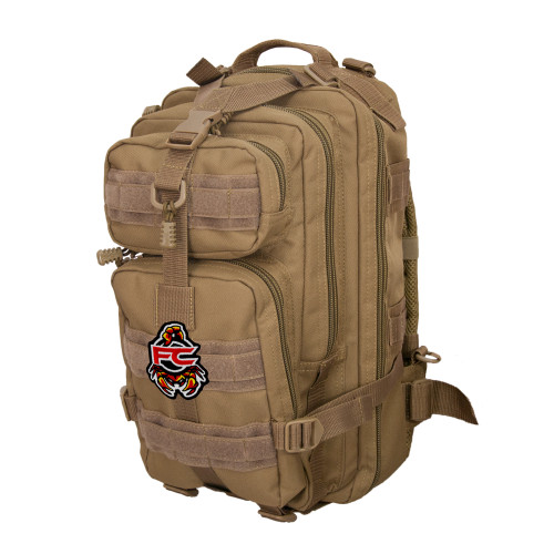 FC Scorpion Patch on Presidio Backpack