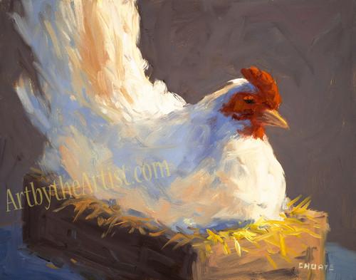 "Fred Choate ""Nesting Hen"""
