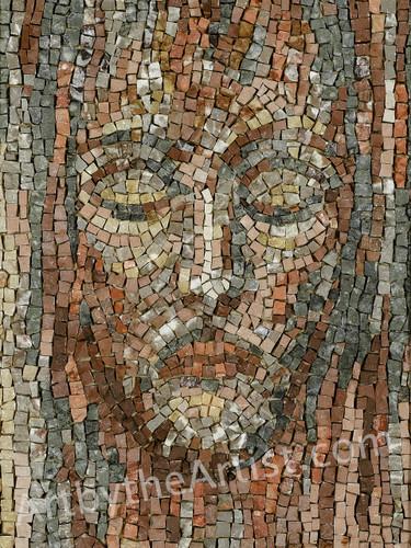 Roberto Anselmi 'At Peace' - Jesus Giclee on Canvas